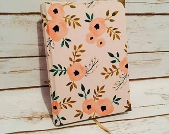 Lined Journal, Writing Journal, Sketchbook, Hardcover Journal, Large Journal, Cloth Journal, Hardcover Notebook, Memory Book,