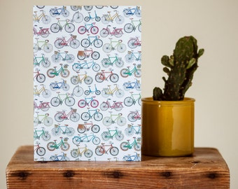 A5 Bicycle Notebook