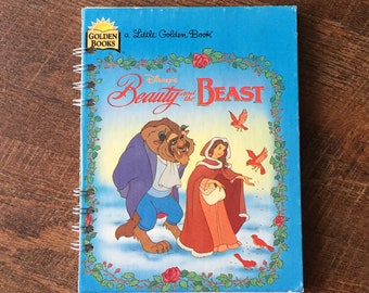 Beauty and the Beast Disney Autograph Book - Beauty and the Beast Journal - Beauty and the Beast Notebook with blank pages