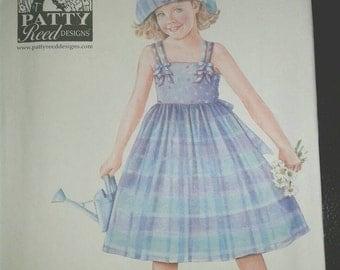06 uncut Patty Reed girls sundress pattern 4204 simplicity