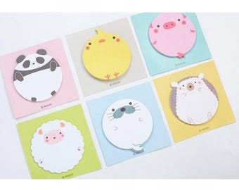 More Rolly Polly Animals Sticky Note SN3301R
