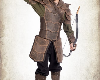 Ranger armor - Adventurer Ranger complete armor for LARP, action roleplaying and cosplay
