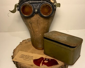 WWII USAAF Variable-Density Goggles - WWII Memorabilia - German made