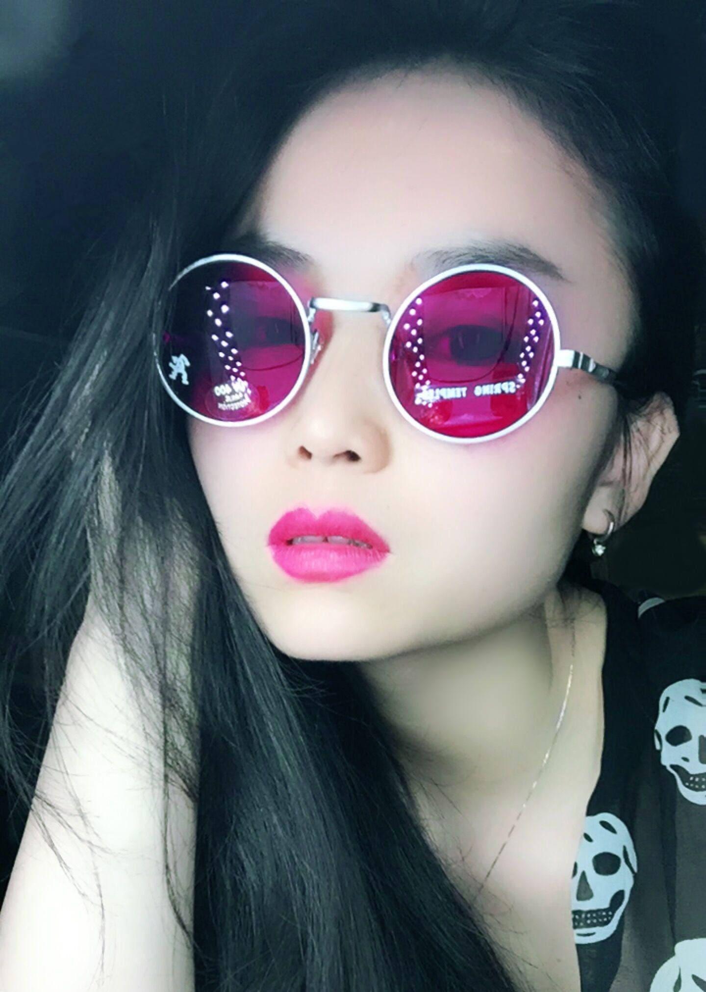 9bfb49edc39 Hi Tek Alexander unisex John Lennon round metal frame uv400 lens vintage  punk spring temple sunglasses