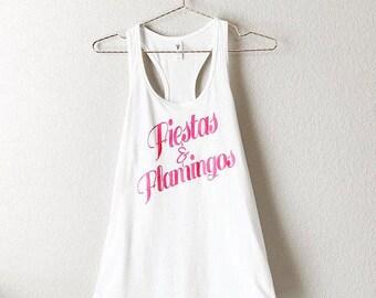 Fiestas & Flamingos Shirt