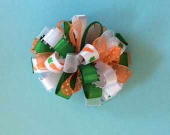 Easter loopy barrette