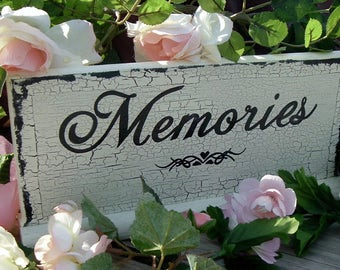 Memories Wedding Sign Rustic Wedding Sign Wood Sign In Memory Table Sign