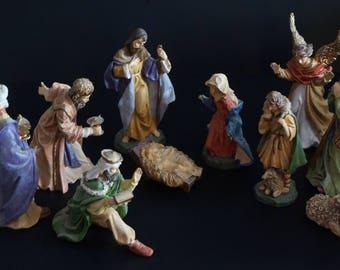 Vintage,Avon 1996 Nativity Set