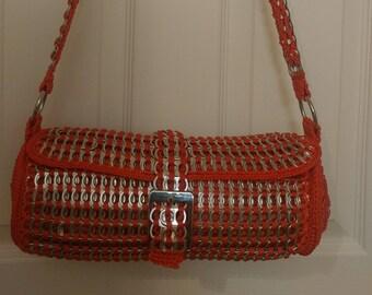 Upcycled Poptab/Soda tab purse