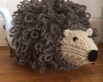 Hedgehog Tea Cosy Hand Knitted