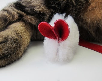 Mini Mouse Cat Toy, Kitten Toy, Cute Cat Toy, Small Cat Toy, Optional Organic Catnip, Catnip Free Cat Toy