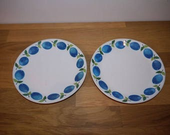 Stig Lindberg - PRUNUS - Small plate - Gustavsberg - Retro - 60s - Sweden - Design