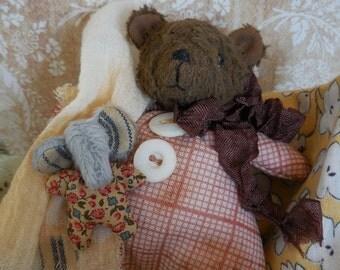 ooak artist viscose bear
