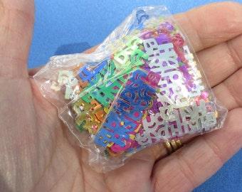 Confetti Happy Birthday Multi Colored