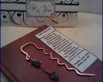 Labradorite Copper Bookmark LB104