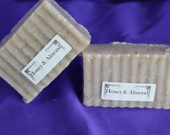 Natural Oatmeal and Coconut Oil Soap