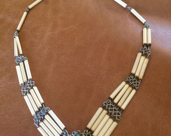 Indian style beaded necklace