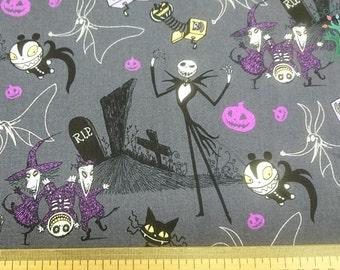 Nightmare Before Christmas Fabric