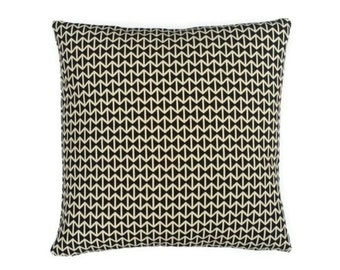 "Double Triangles by Alexander Girard  - Maharam - Mid-century Modern design decor pillow 17"" x 17"" feather/down insert included"