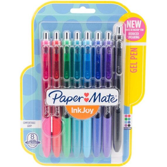 Paper mate ink joy gel pens mm fine set of