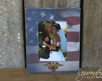 5 x 7 frames military gifts patriotic gifts military frames us flag frame military photo frames - Military Picture Frames