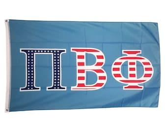 Pi Beta Phi USA Letter Flag 3' x 5' - NEW!