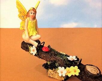 Seesaw Fairy Playground Fun Miniature Fairy Garden Teeter Totter