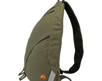 Sling Backpack - Large | Sling Bag, Shoulder Bag, Travel Bag, Laptop Bag, Macbook Bag, Padded Bag, - HEAVY DUTY CANVAS - 1 Year Warranty