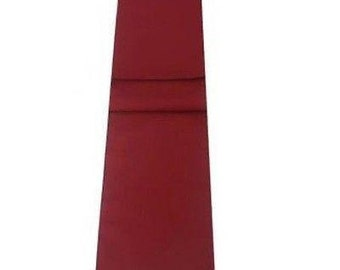 Maroon / Burgundy Table Runner Linen Cotton Feel / Poly Mix