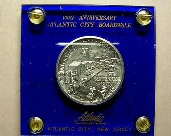 Atlantic City Boardwalk 100th Anniversary Coin 1870-1970