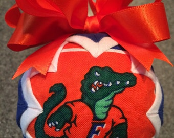 Handmade Florida Gator Ornament