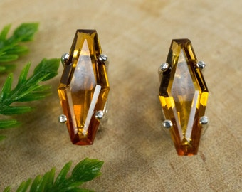 Citrine Sterling Silver Earrings