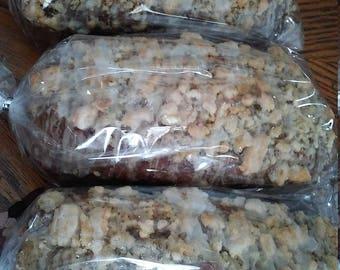 Fresh Baked Banana Nut Bread/ 3 delicious loaves