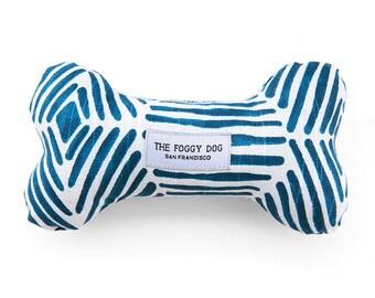 Boho Diamonds Dog Bone Toy Squeaker Chew Toy Gift