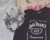 Vintage Jack Daniel's Tennessee Whiskey Graphic Shirt.