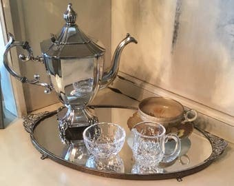 Waterford Crystal Small Sugar and Creamer
