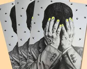 3 Josh+hands mini prints
