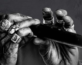Art, Photography, Wall Art, Musician, Amazing Grace, Flute, Music, Black & White, woodwind, sound, Melody, hand, performer, notes, flutist