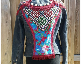 S/M Embellished Jacket *TOREADOR* Boho