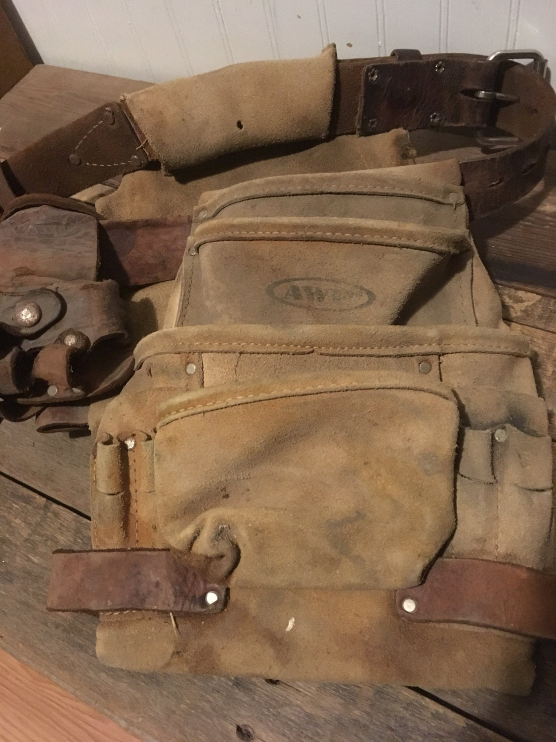 leather tool pouch belts awp carpenter pouch