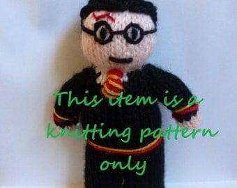 PDF knitting pattern: Harry Potter