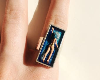 Tiny swimmer ring