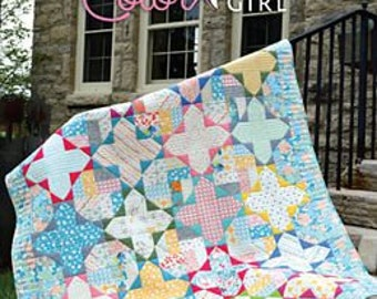 Gossamer Quilt Pattern by Color Girl Quilts Free Shipping in the US