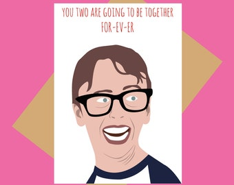 The Sandlot card - Squints - Funny wedding/engagement card
