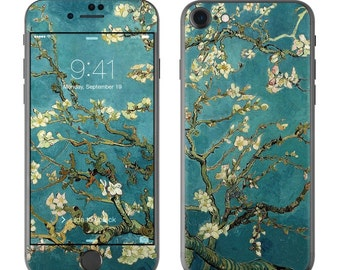 Blossoming Almond Tree by Vincent van Gogh - iPhone 7/7 Plus Skin - Sticker Decal