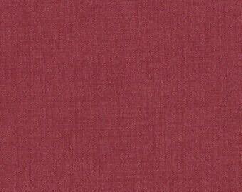 """Moda Quilt Fabric - French General  - Fa La La La - Rouge Solid -  13529-73R 45"""" x 69"""""""