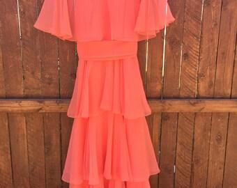 Vintage latered dress
