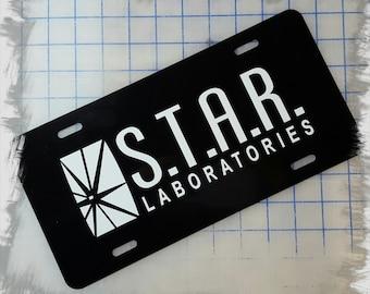 STAR Laboratories Custom License Plate