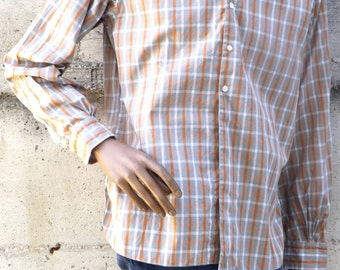Men's shirt Vintage 60's Made in Italy size M