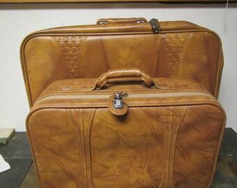 American Tourister 2 piece Luggage set ,  Suitcase Set, Large and Medium Suitcase